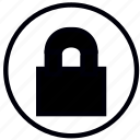 blank, close, lock, safety, security icon