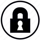 close, lock, locked, safety, security icon