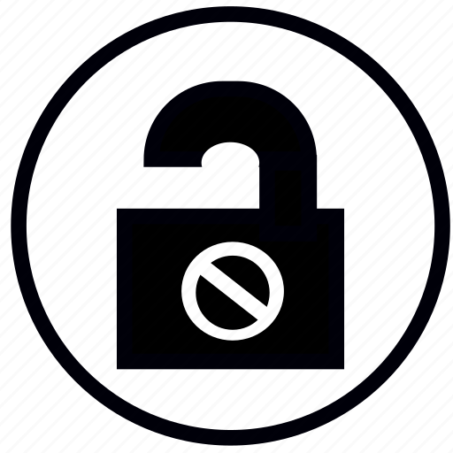 dont, lock, open, safety, security icon