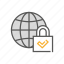 defense, globe, hand, privacy, protection, security