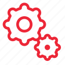 cog, configuration, gear, gears, options, preferences, settings icon