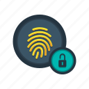 access, lock, privacy, protection, secure, security, unlocked icon