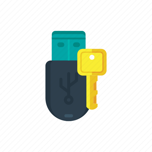 data, drive, encrypted, memory, pendrive, stick, storage icon