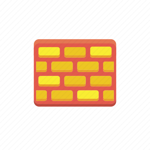 brick, firewall, protect, protection, secure, shield, wall icon