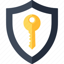 access, key, password, protection, security, shield, unlock icon