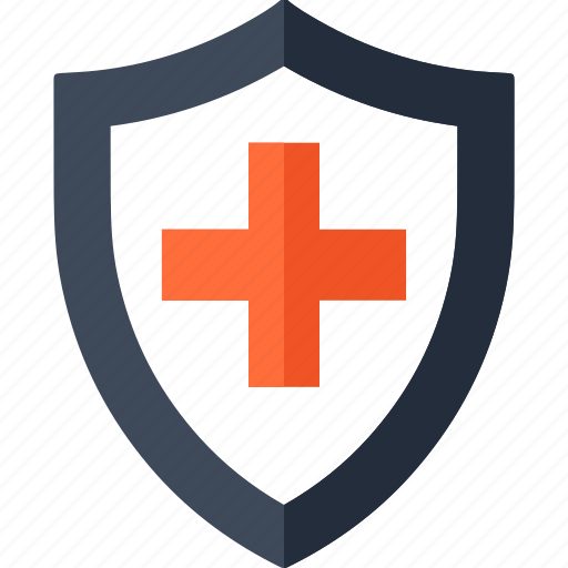 doctor, health, insurance, medical, protection, security, shield icon