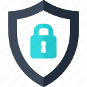 lock, password, protection, reliable, security, shield icon