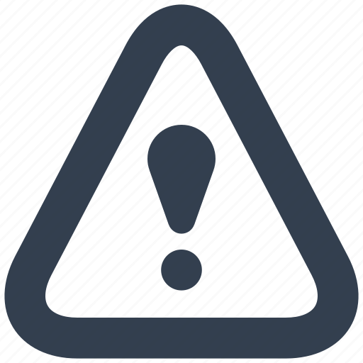 danger, safety, security, sign, triangle, warning icon