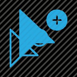 add, arrow, cursor, mouse, pointer icon