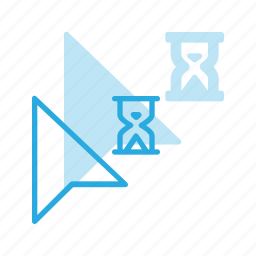 arrow, busy, cursor, mouse, pointer icon