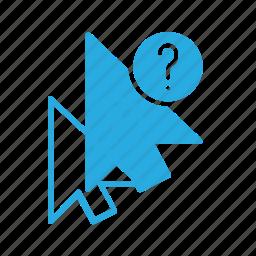 arrow, cursor, info, mouse, pointer icon