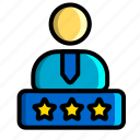 icon, color, rating, person, account, profile