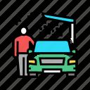 equipment, car, wash, service, self, non