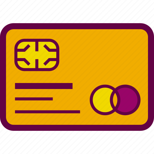 card, chip, credit, online, payment, plastic icon