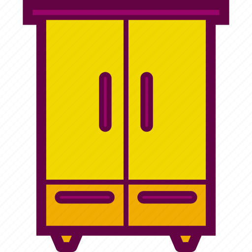 closet, clothes, furniture, wardrobe icon