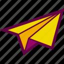 deliver, email, mail, paper, plane, send