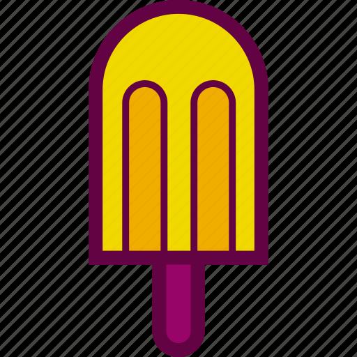 cold, cream, ice, palette, popsicle icon