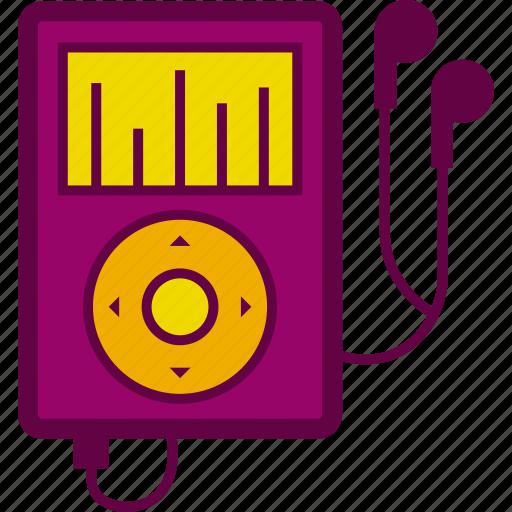 digital, gadget, mp3, music, player, storage icon