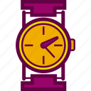 clock, hour, time, watch, wrist icon