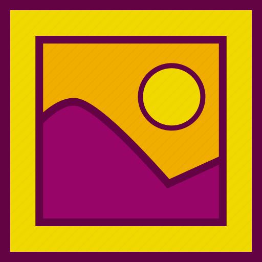 album, landscape, painting, photo, photograph icon