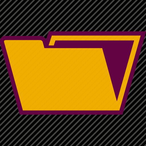 archive, document, folder, portfolio icon