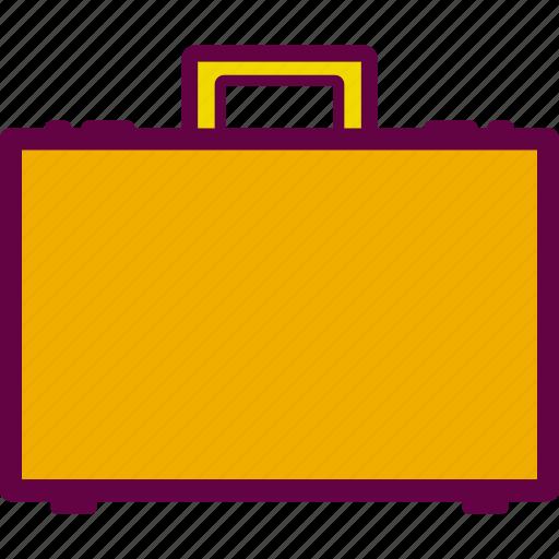 baggage, briefcase, case, office, paperwork icon