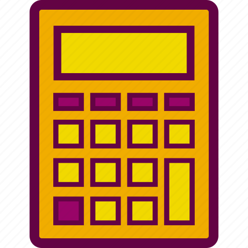 calculation, calculator, math, mathematics, numbers icon