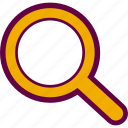 find, glass, magnifier, search, zoom