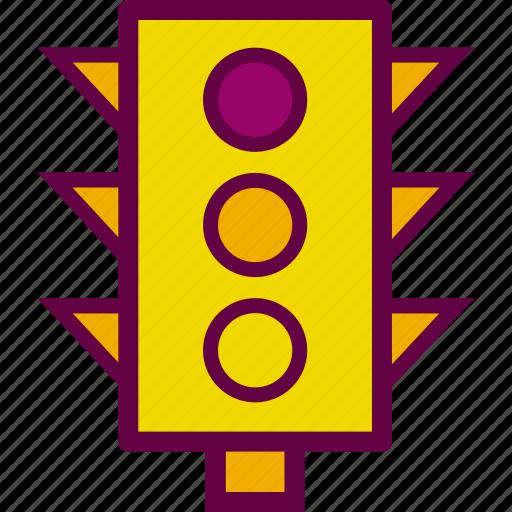 light, lights, semaphore, traffic icon