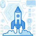 exploration, launch, navigation, rocket, seo, start, up