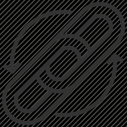 backlinks, marketing, optimization, seo icon