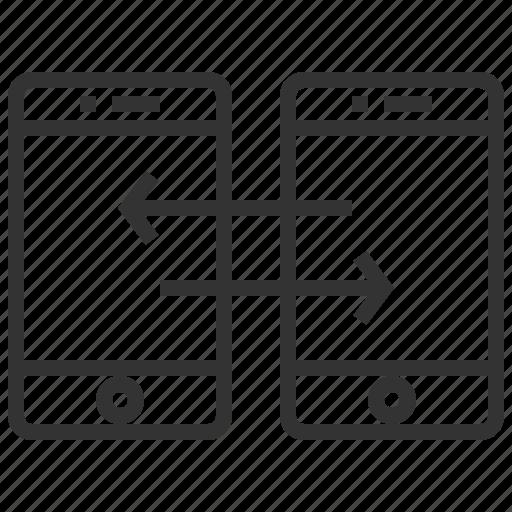 data, document, file, sharing, storage icon