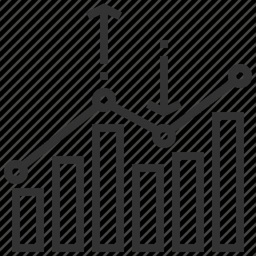 analysis, analytics, graph, report, seo, statistics, web icon
