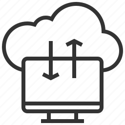 cloud, connection, information, network, storage icon