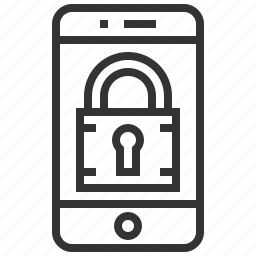device, lock, protection, safety, security, smartphone, technology icon