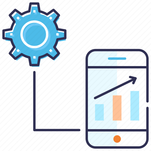 Development, mobile application, mobile computing, mobile seo, optimization, search engine icon - Download on Iconfinder