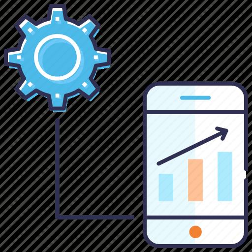 development, mobile application, mobile computing, mobile seo, optimization, search engine icon