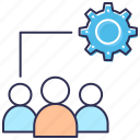 development, preferences, seo, settings, teamwork, user account