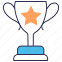 achievement, award, best, quality, seo, trophy icon