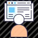 blogging, browsing, content, office work, seo, website
