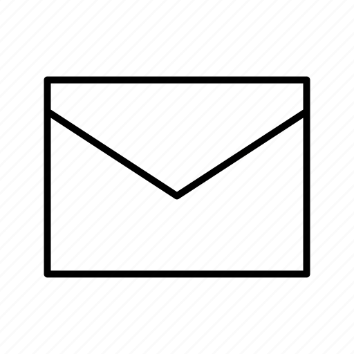 communication, email, envelope, inbox icon