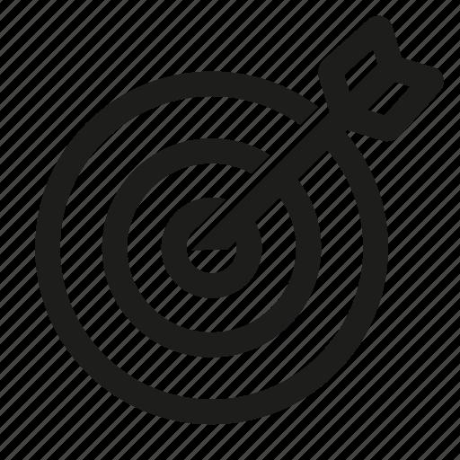 dartboard, goal, search, seo, target icon
