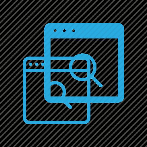 analytics, content, marketing, remarketing, search, seo icon