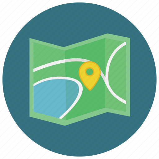 location, map, marker, navigation, pointer icon