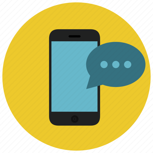 communication, device, mobile, phone, smartphone, text icon