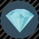 diamond, jem, jeweler, value icon