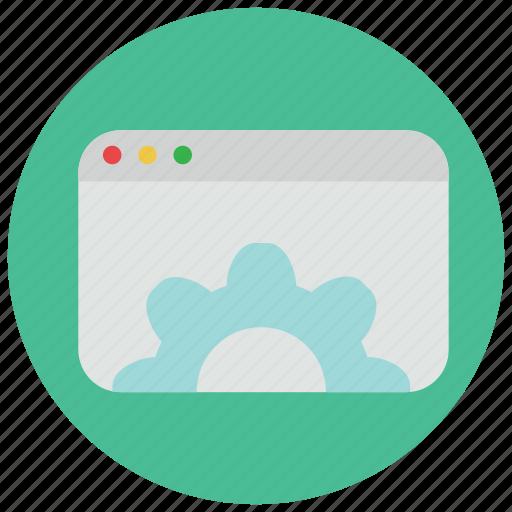 browser, internet, website, window icon