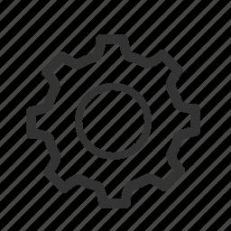 config, gear, optimization, option, seo, settings, tools icon