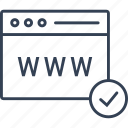 internet, online, seo, site icon