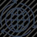 seo, system, world icon